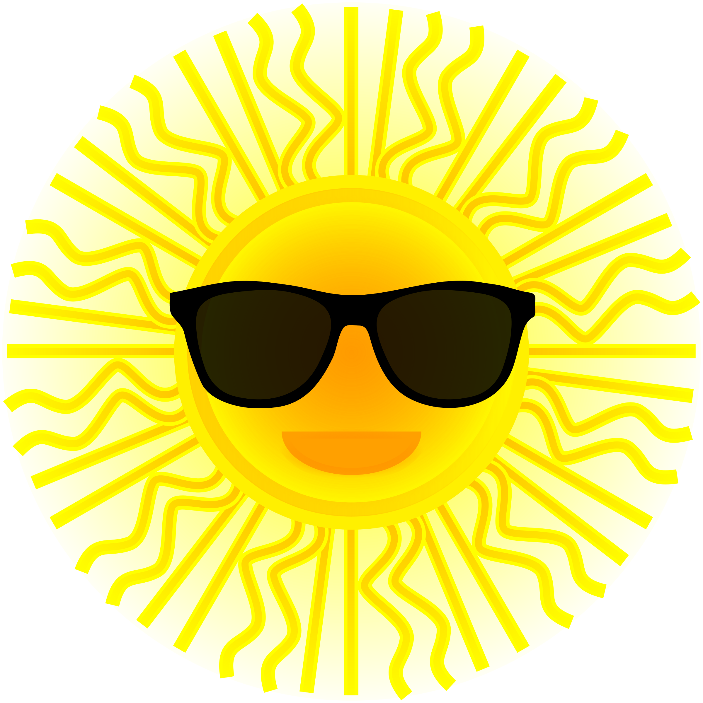 Sun clipart simple clipart stock Glasses clipart sun ~ Frames ~ Illustrations ~ HD images ~ Photo ... clipart stock