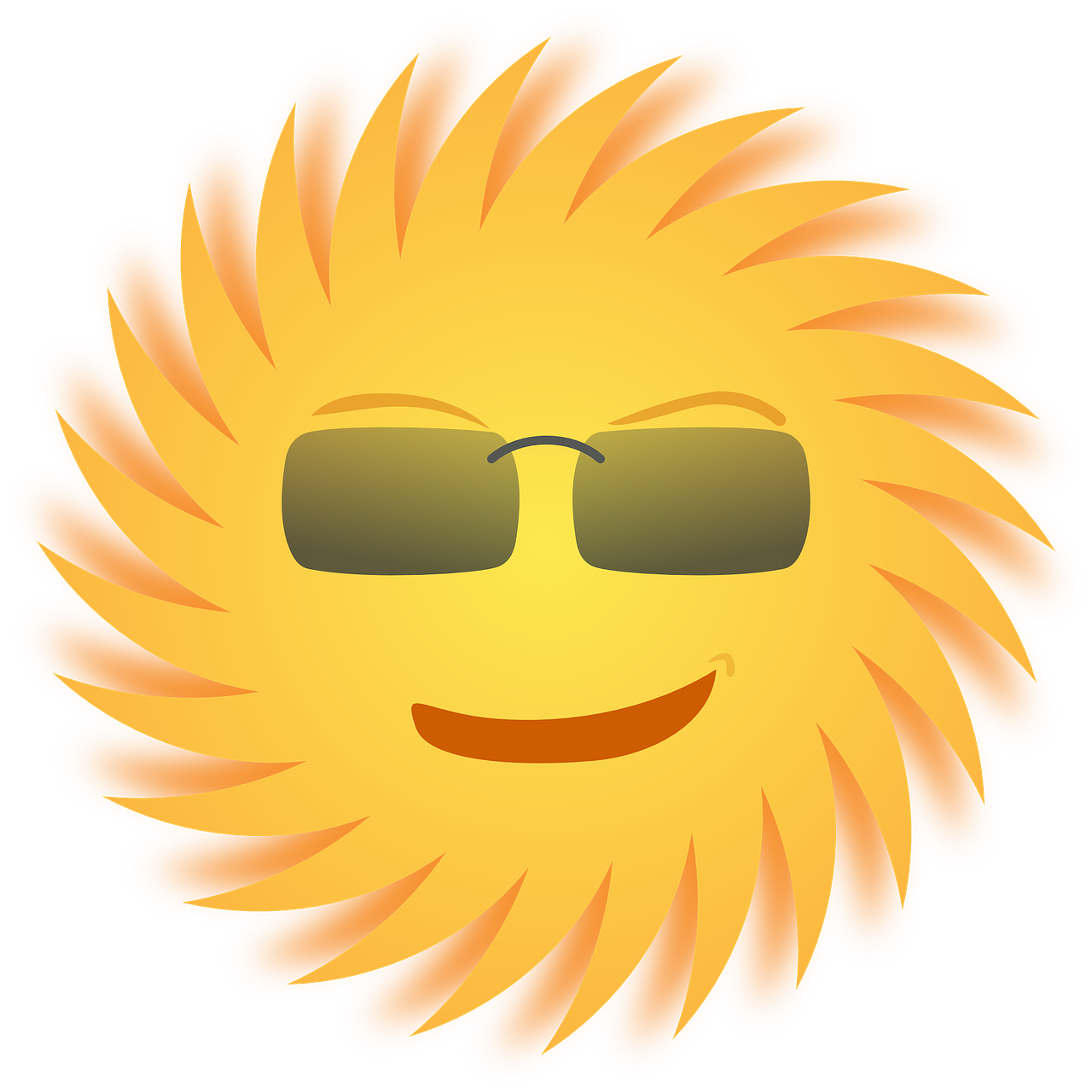 Sun clipart with big rays png transparent What SPF sunscreen should I use? png transparent