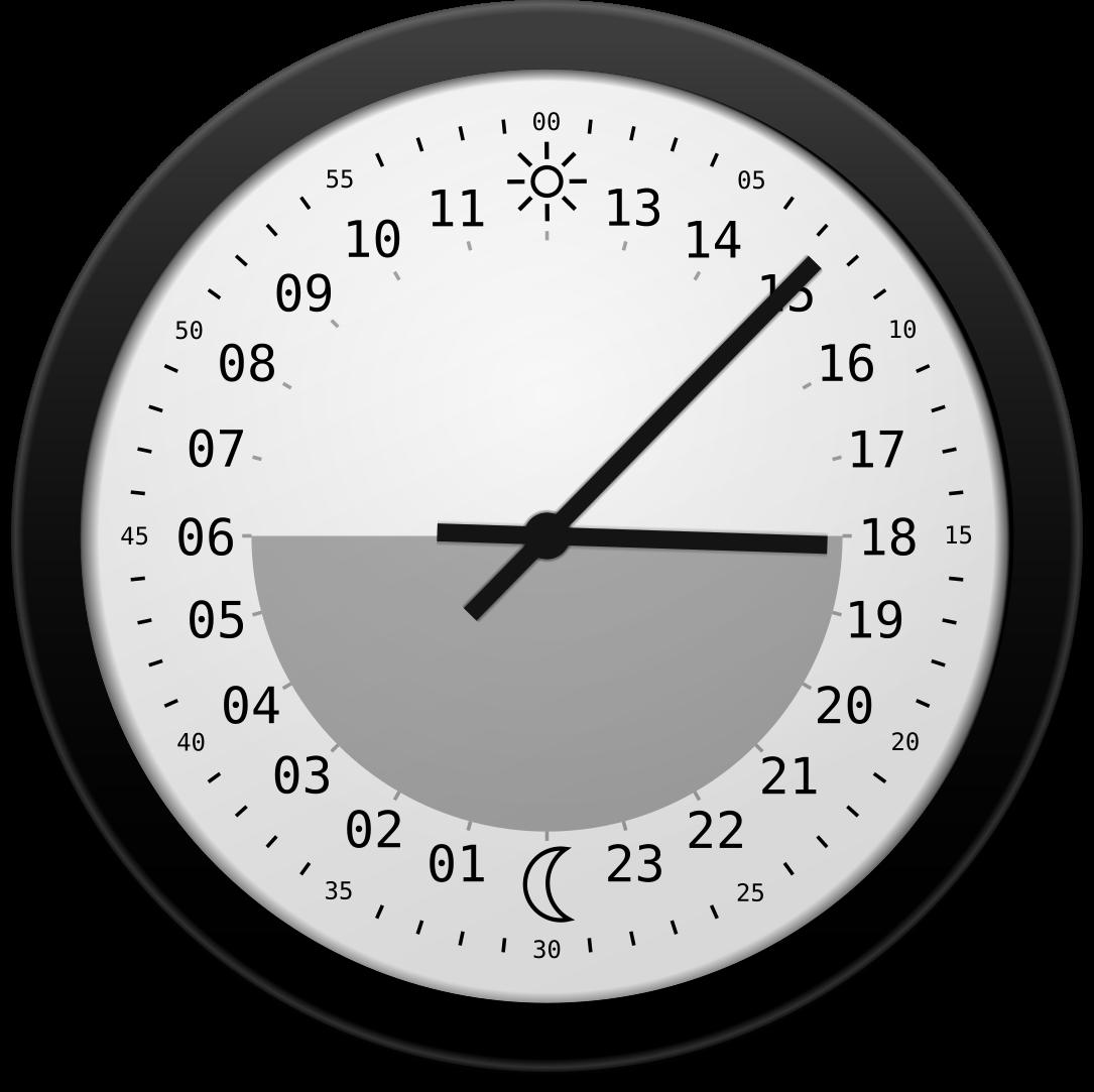 Sun clock clipart clip art black and white stock Sun clocks | iSoul clip art black and white stock