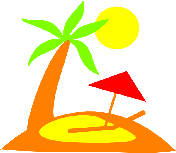 Sun desert clipart graphic free Island Clip Art at Clker.com - vector clip art online, royalty free ... graphic free