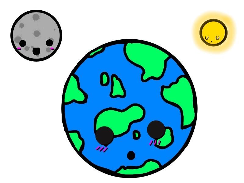 Sun earth moon clipart banner royalty free Sun And Moon Clipart   Free download best Sun And Moon ... banner royalty free