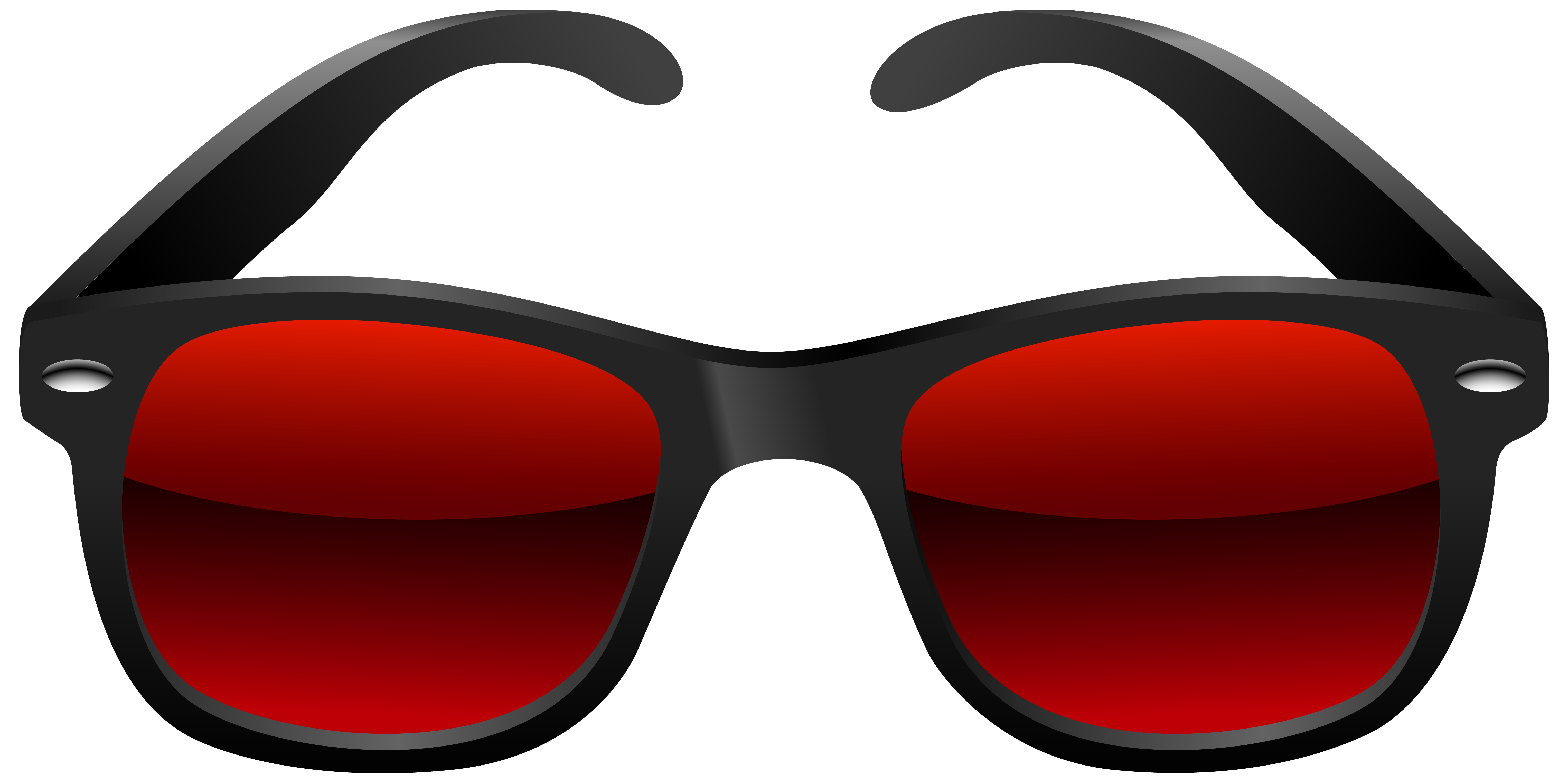 Sun glasses clipart freeuse download Black and Red Sunglasses PNG Clipart Image | Gallery Yopriceville ... freeuse download