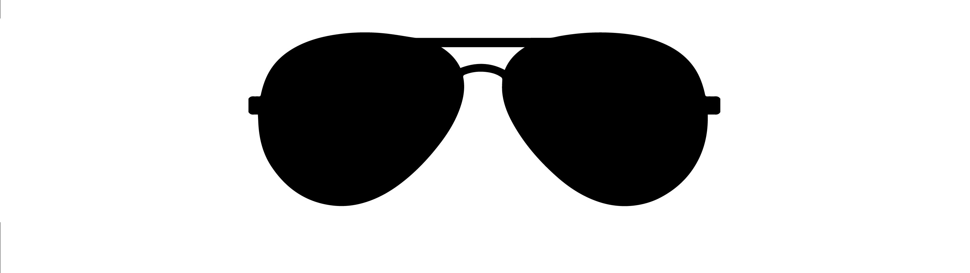 Sun glasses clipart black and shite svg freeuse library Black Sunglasses Clip Art svg freeuse library