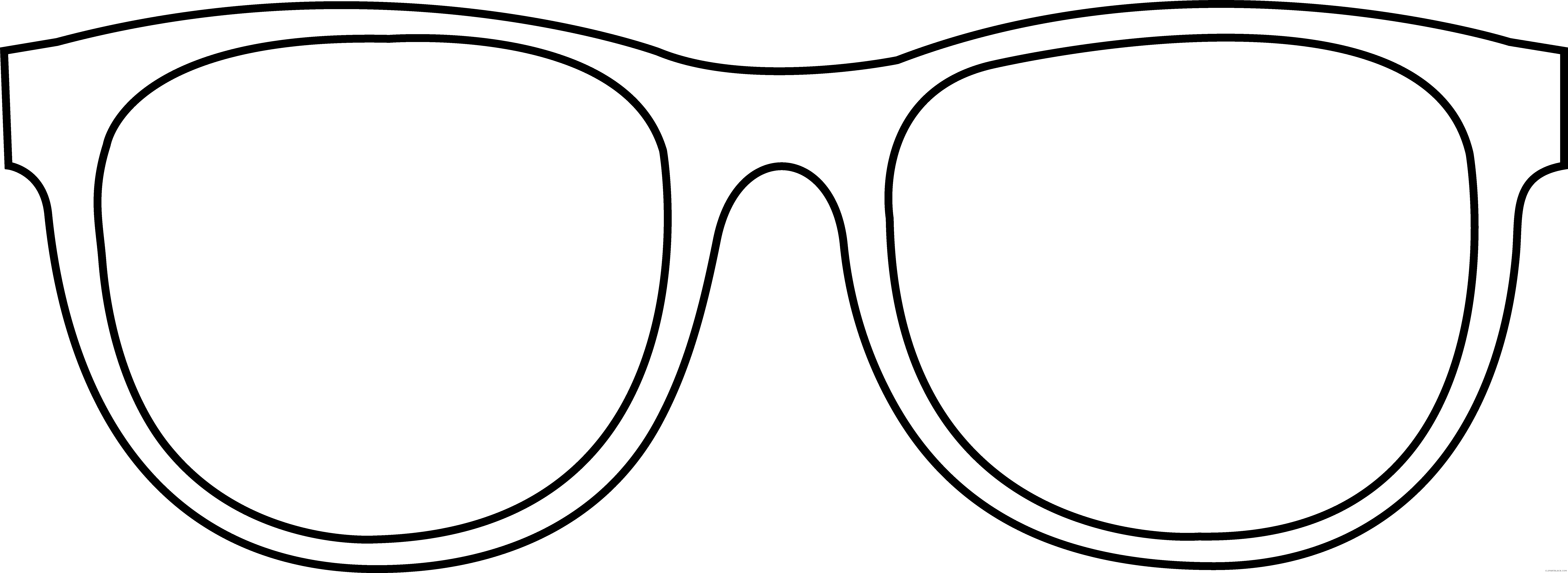 Sun glasses clipart black and shite vector library library Sunglasses - Page 6 of 11 - ClipartBlack.com vector library library