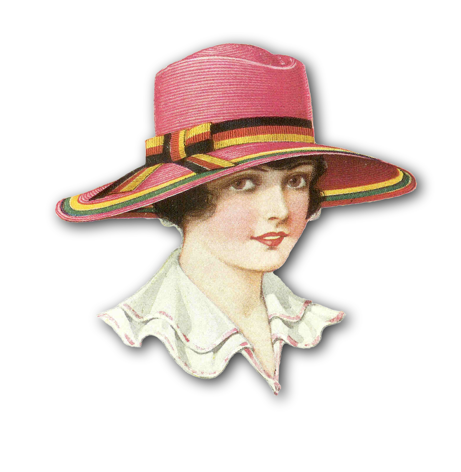 Sun hat clipart black and white png download Shad Clipart Group (50+) png download