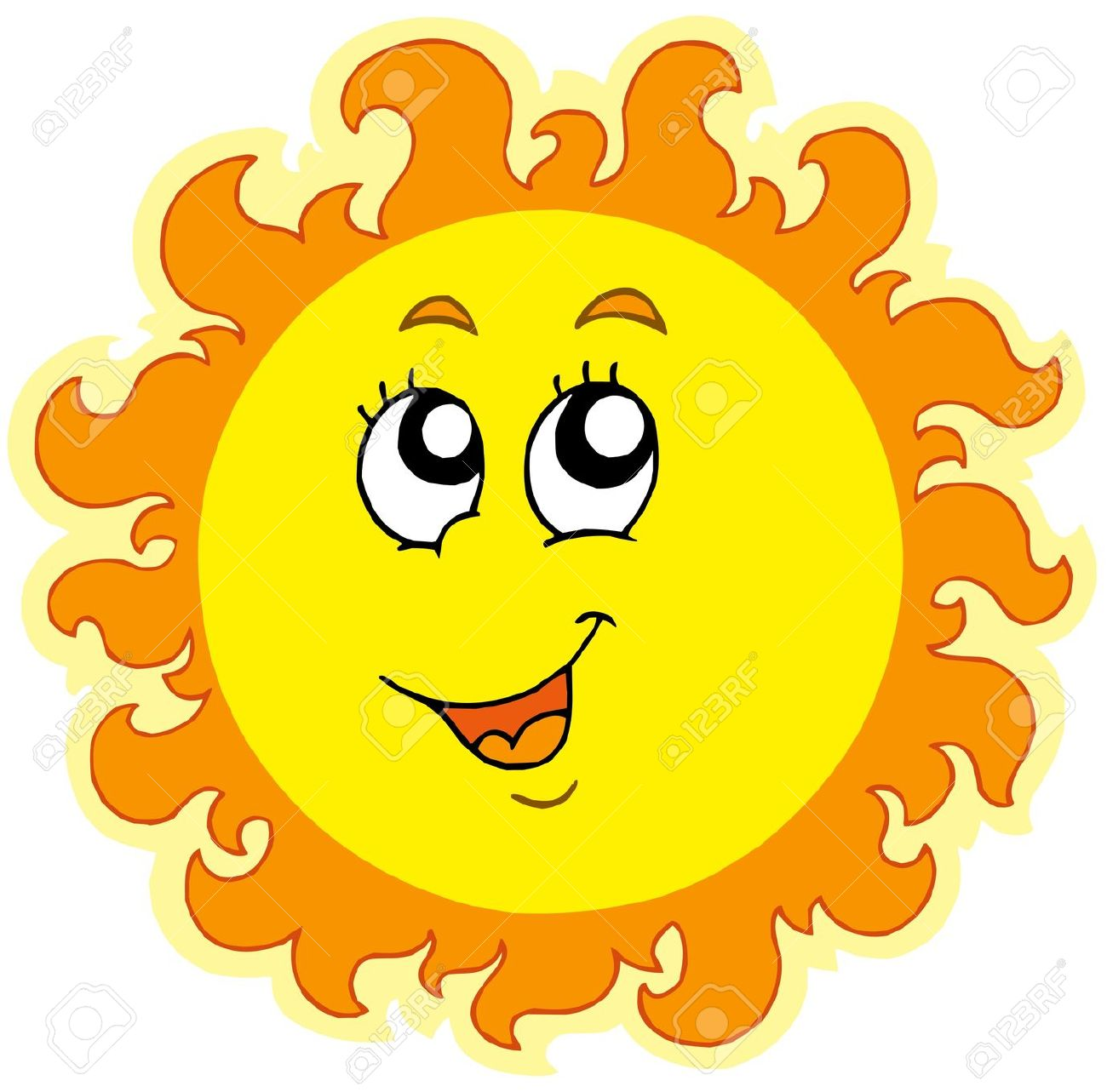 Sun i feel clipart freeuse library Sweating Sun Clipart | Free download best Sweating Sun ... freeuse library