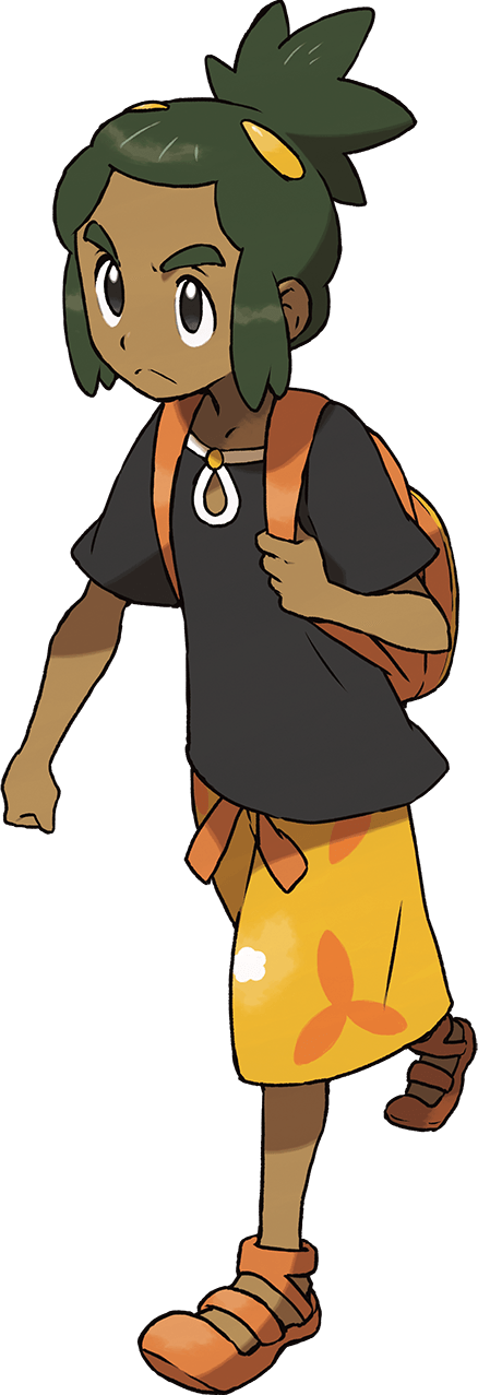 Sun moon seperate clipart image freeuse library Pokemon Sun & Moon Characters | Pokeshopper image freeuse library