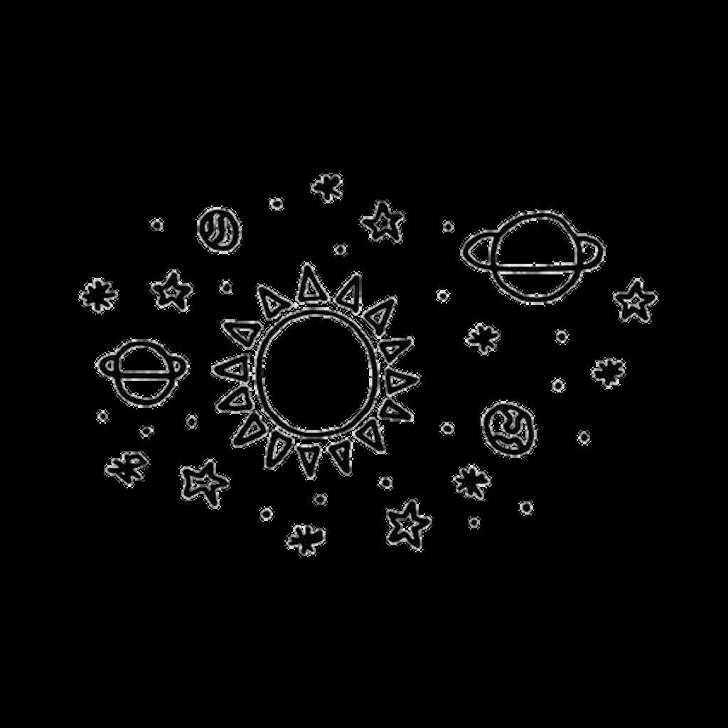 Sun moon stars clipart black and white free download moon stars sun blackandwhite space... free download