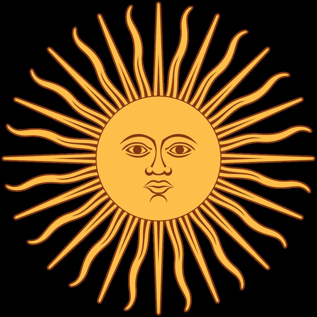 Sun of may clipart clip freeuse library File:Sol de Mayo-Bandera de Argentina.svg - Wikipedia clip freeuse library