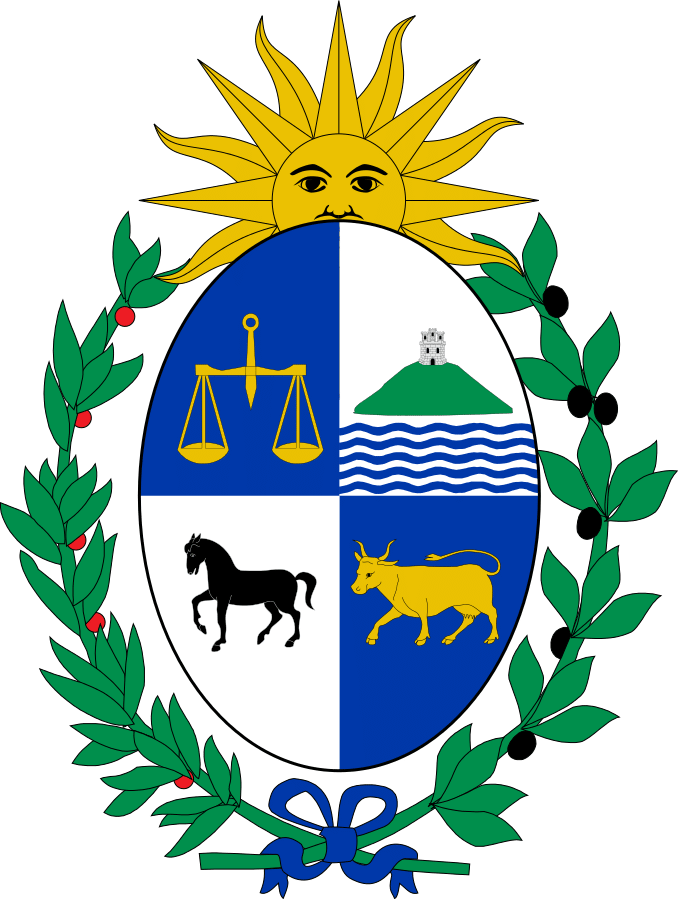 Sun of may clipart jpg free library History of Uruguay Flag - Flagmakers jpg free library