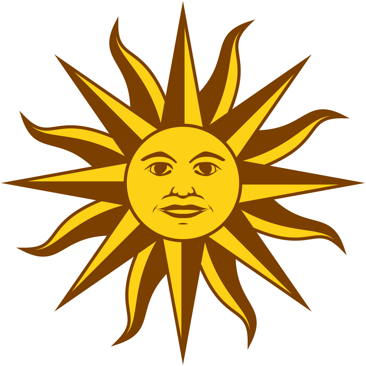 Sun of may clipart banner royalty free download Sun of May - Simple English Wikipedia, the free encyclopedia banner royalty free download