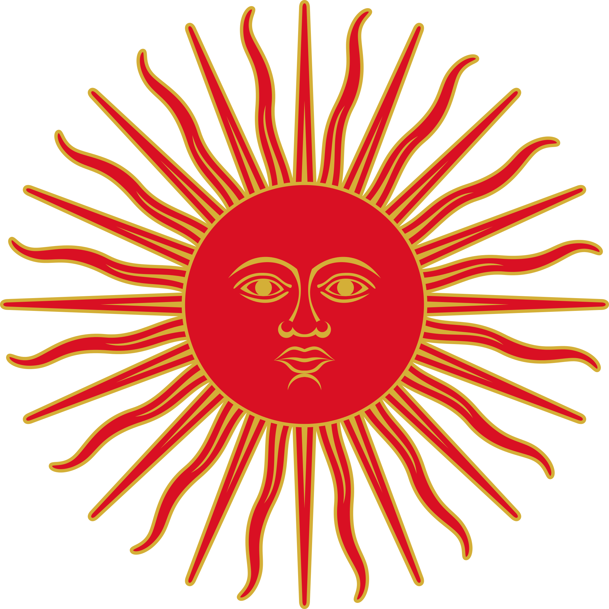Sun of may clipart clipart freeuse File:Sun of May (Peru, 1822-1825).svg - Wikimedia Commons clipart freeuse