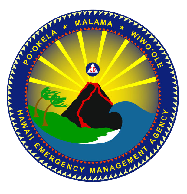 Sun over pyramid clipart clip art royalty free Hawaii Emergency Management Agency logo - don't mind the two tiered ... clip art royalty free
