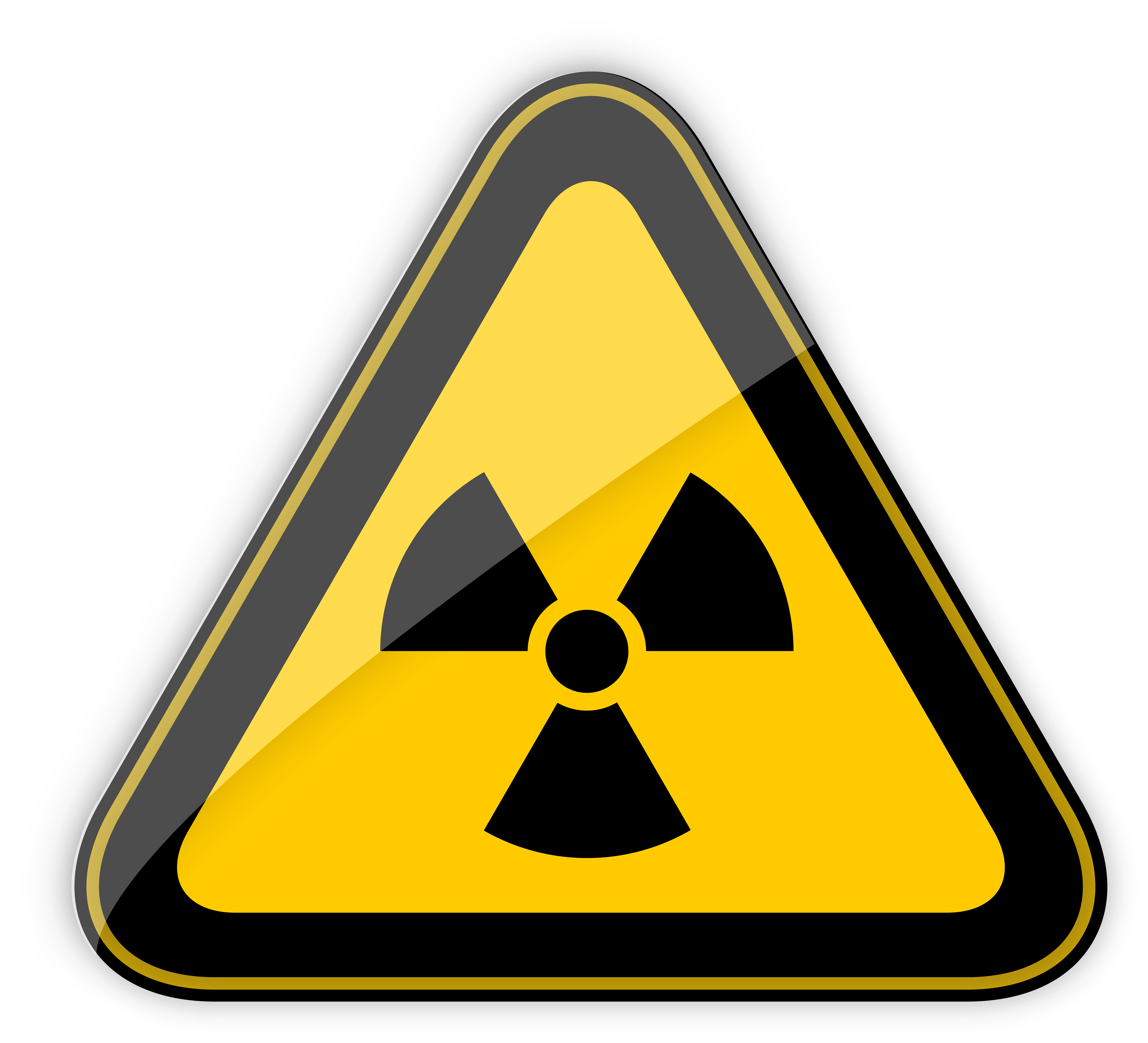 Sun radiation clipart picture free download Radiation Hazard Warning Sign PNG Clipart - Best WEB Clipart picture free download