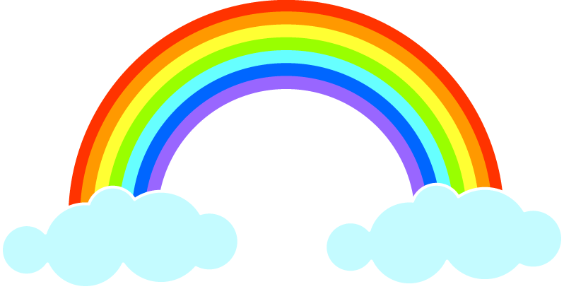 Sun& rainbow clipart free png library library الوان قوس قزح - Google Търсене   rainbows   Pinterest   Homework png library library