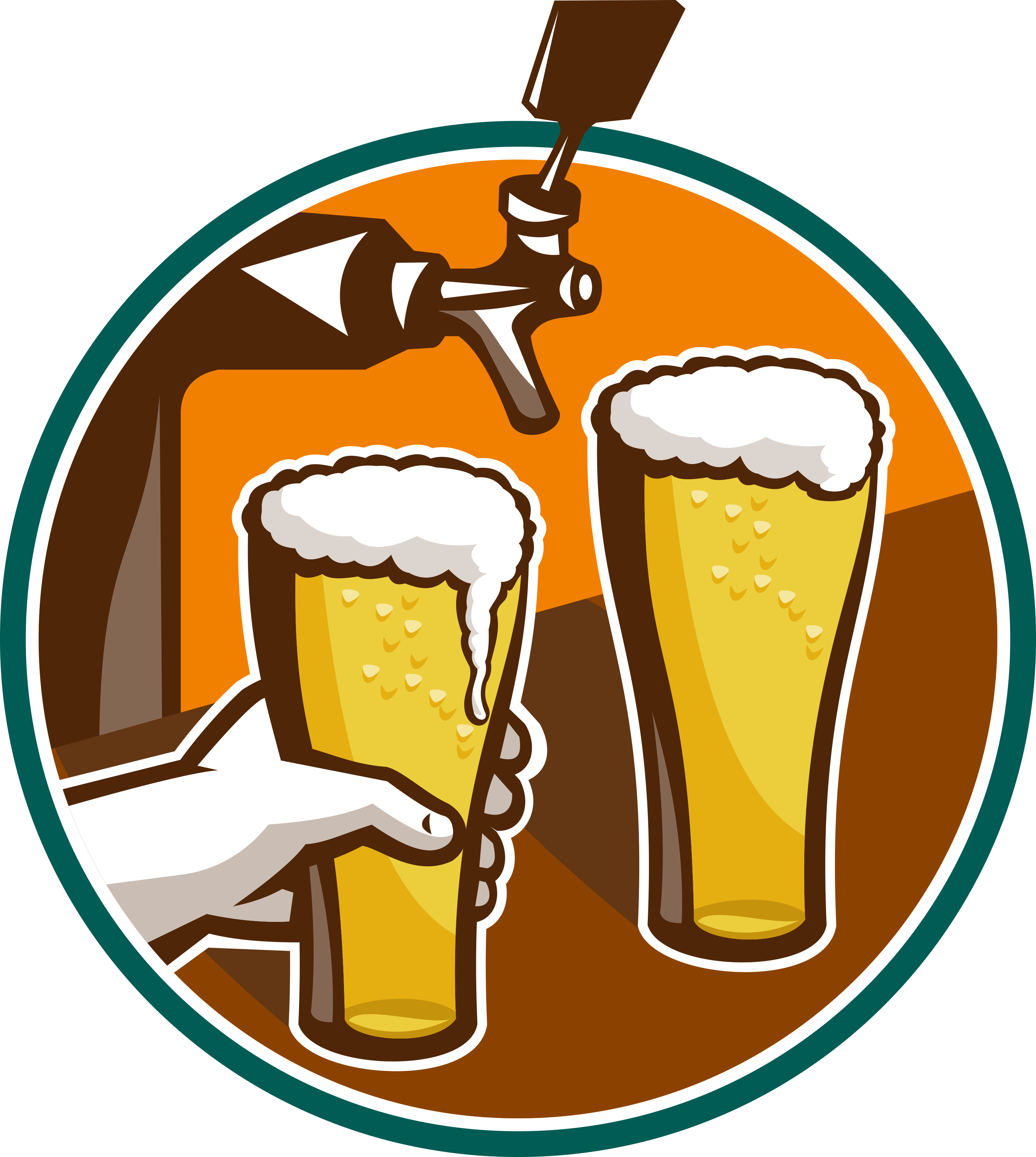 Sun relaxing with cocktail clipart png library library San Diego Craft Brewery Guide | The Wandering Ex-Housewife png library library