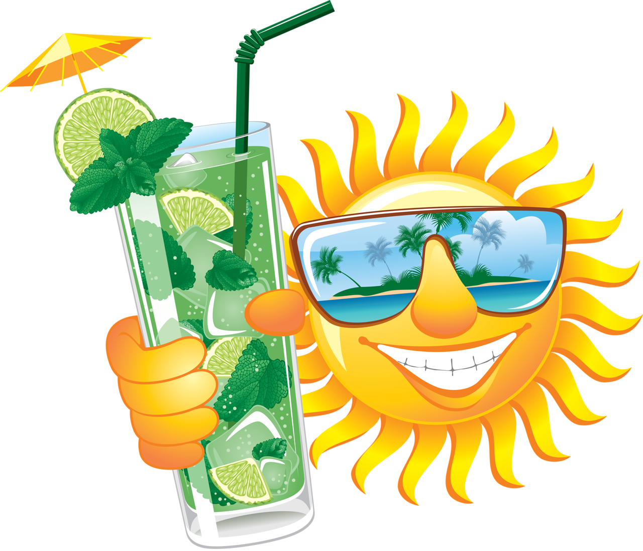 Sun relaxing with cocktail clipart png freeuse download 0_8baad_6ddc68a6_orig.png | Pinterest | Smileys and Emoticon png freeuse download