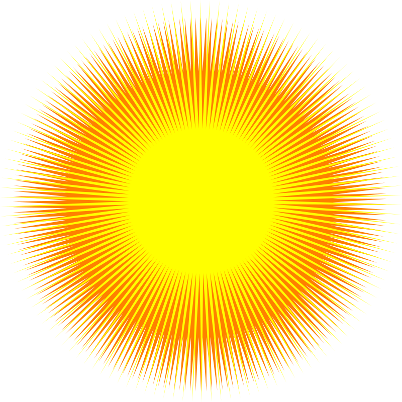 Sun rising clipart png download Sun Light Clip Art (49+) png download