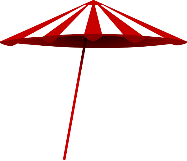 Sun shade clipart clip library download Tomk Red White Umbrella Clip Art at Clker.com - vector clip art ... clip library download