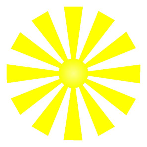 Sun shining clipart clip art free Sunshine Clip Art at Clker.com - vector clip art online, royalty ... clip art free