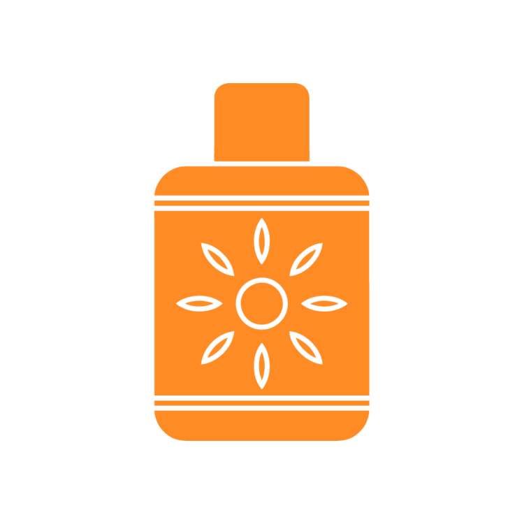 Sun tan lotion clipart picture freeuse sun tan lotion – Free Icons: Easy to Download and Use picture freeuse