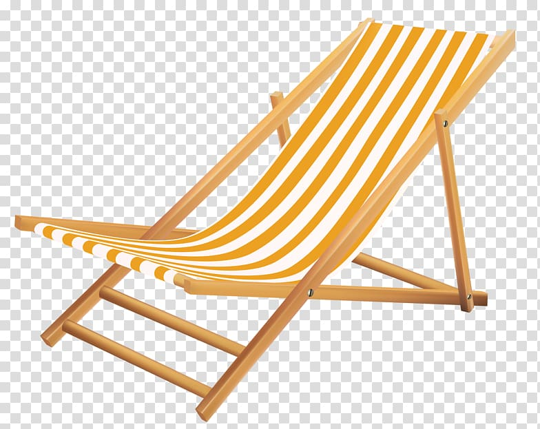 Sun tanning pool lounge chair clipart silhouette black and white