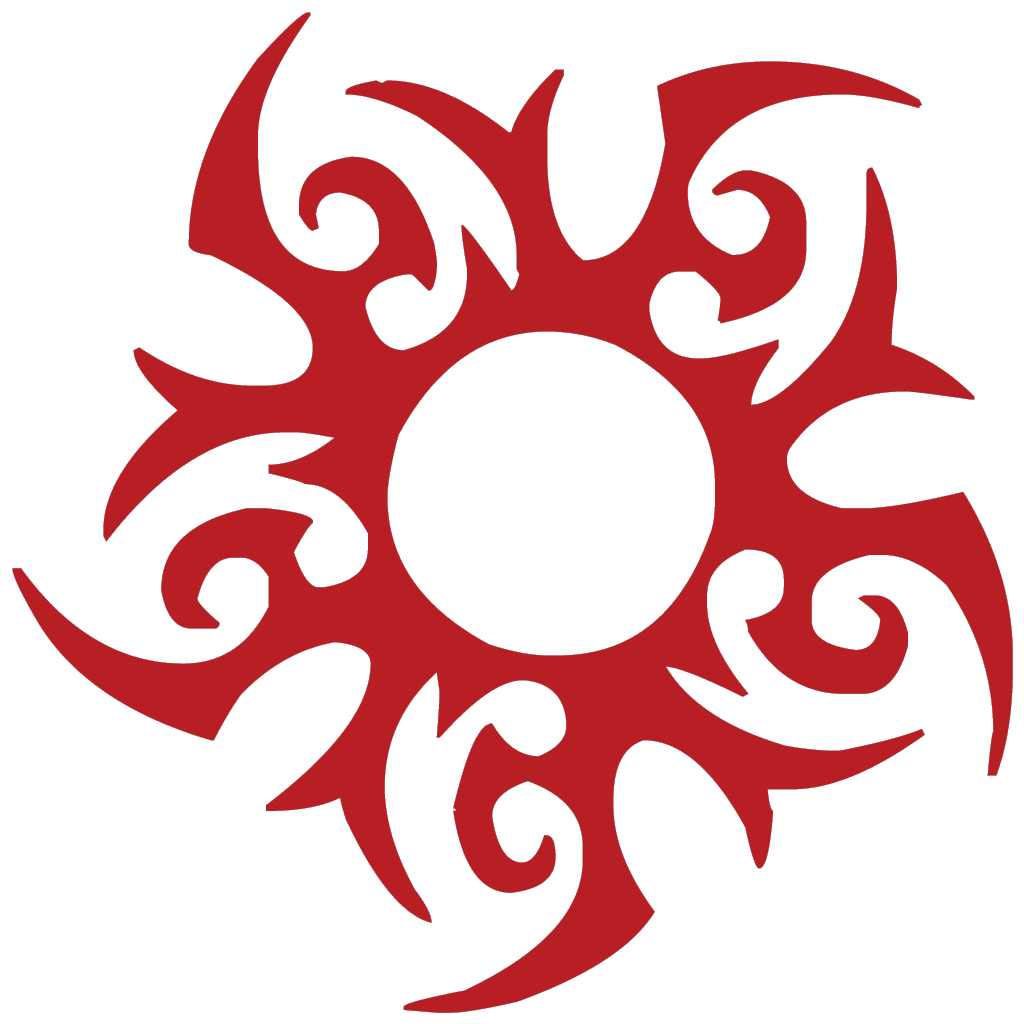 Sun tattoo clipart picture stock Symbol: Tribal Sun #1 | Pinterest | Tribal sun, Symbols and Tattoo picture stock