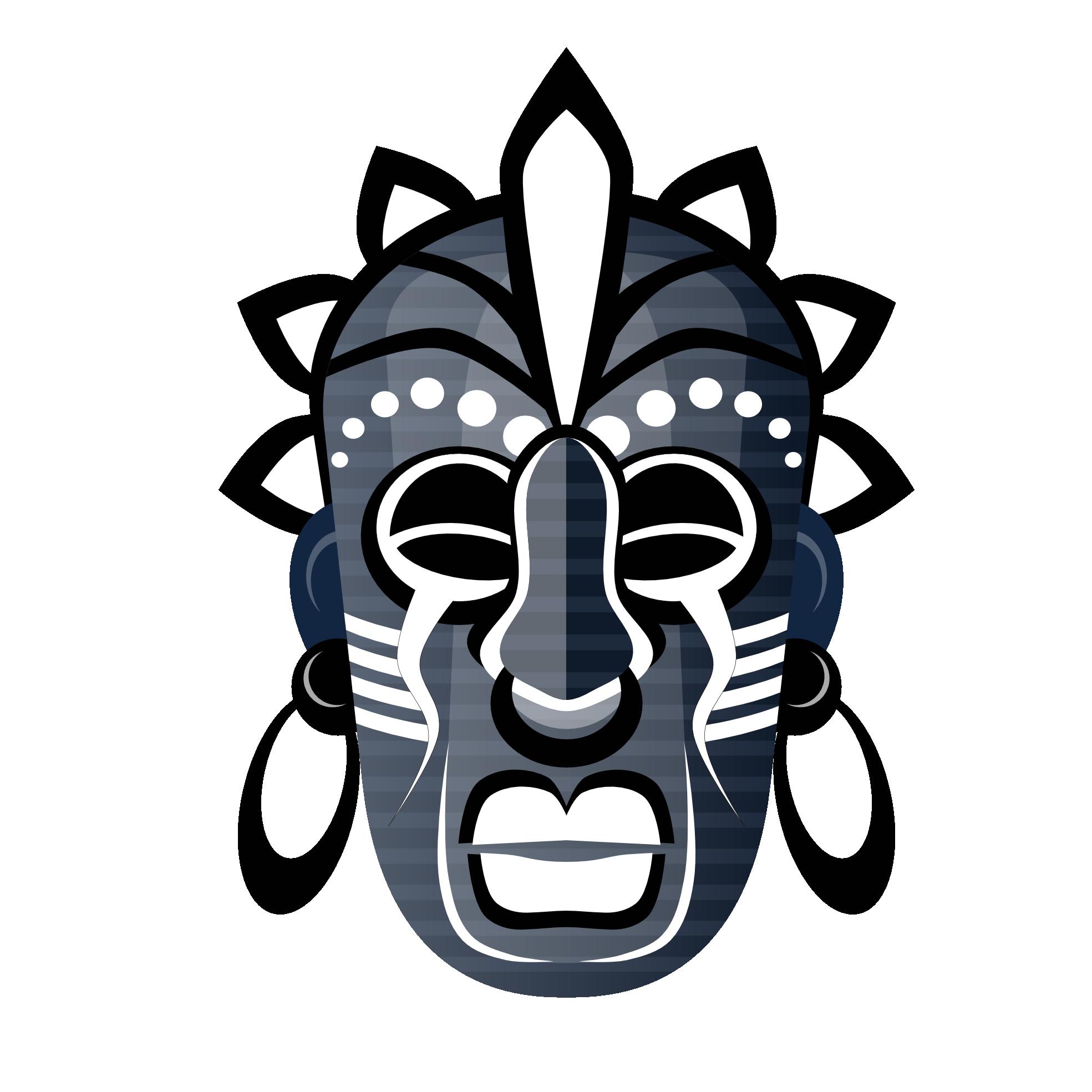 Sun tribal clipart clip black and white stock Masks clipart tribe #6   Mask   Pinterest   Masking and Explore clip black and white stock