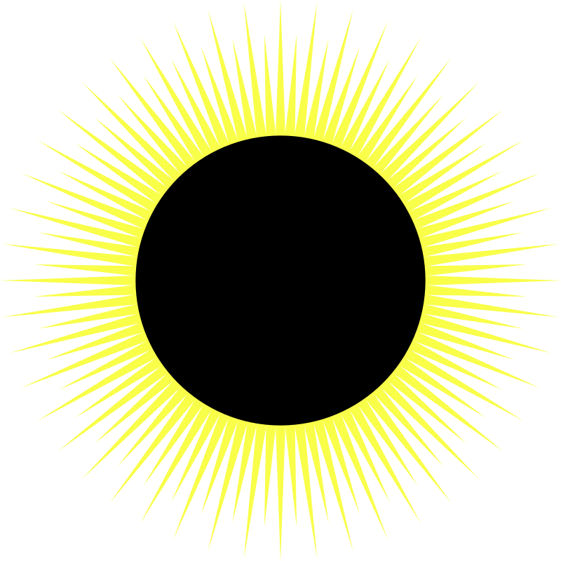 Sun with eclipse glasses clipart freeuse download Solar Eclipse Clipart at GetDrawings.com | Free for personal use ... freeuse download