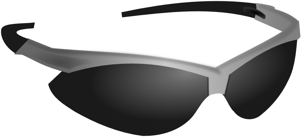 Sun with eclipse glasses clipart black and white download Sunglasses PNG images free download black and white download