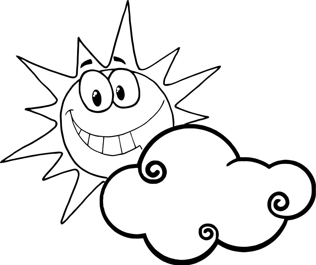 Sun with face clipart black and white cute picture royalty free Smiling Sun Face | Free download best Smiling Sun Face on ... picture royalty free