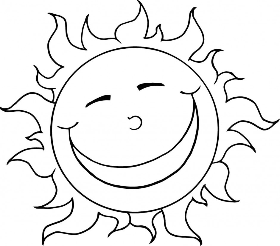 Sun with face clipart black and white cute png library Sun black and white cute sun clipart black and white ... png library