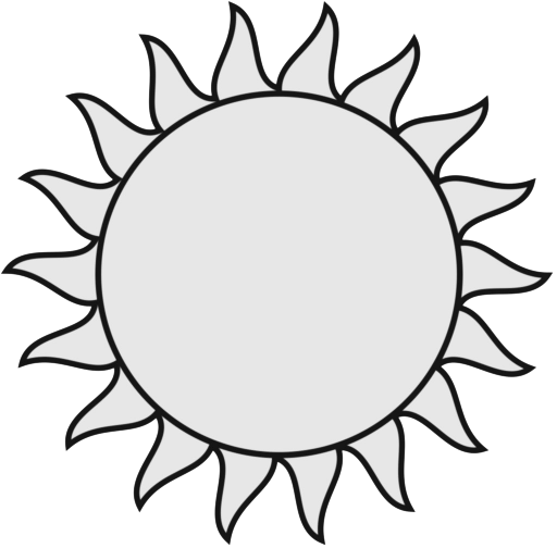 Sun with rays clipart black and white svg royalty free Free Sun Black And White, Download Free Clip Art, Free Clip ... svg royalty free