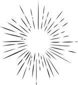Sun with rays clipart black and white graphic library Sun rays clipart black and white 4 » Clipart Portal graphic library
