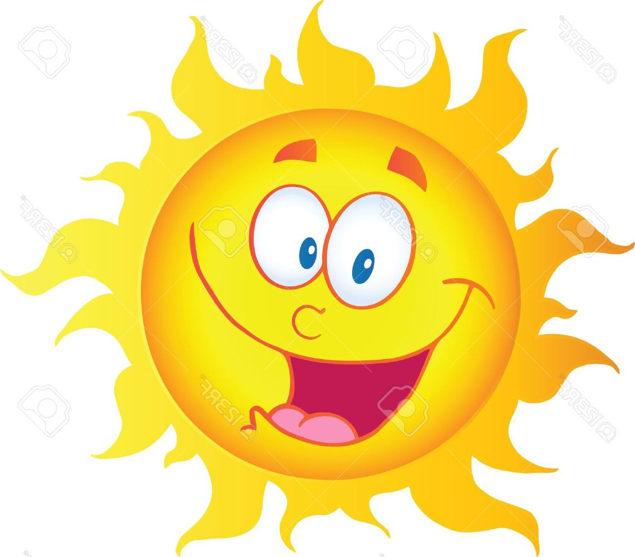 Sun with smiley face clipart image freeuse stock Best Free Sunshine Smiley Face Clip Art Vector Cdr » Free ... image freeuse stock