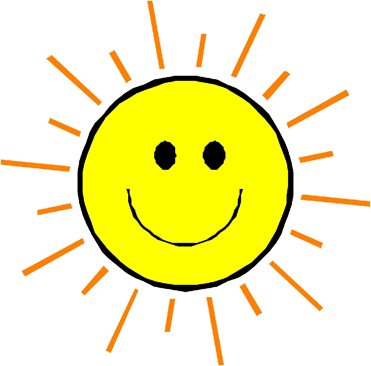 Sun with smiley face clipart image freeuse Free Smiley Sun Cliparts, Download Free Clip Art, Free Clip ... image freeuse