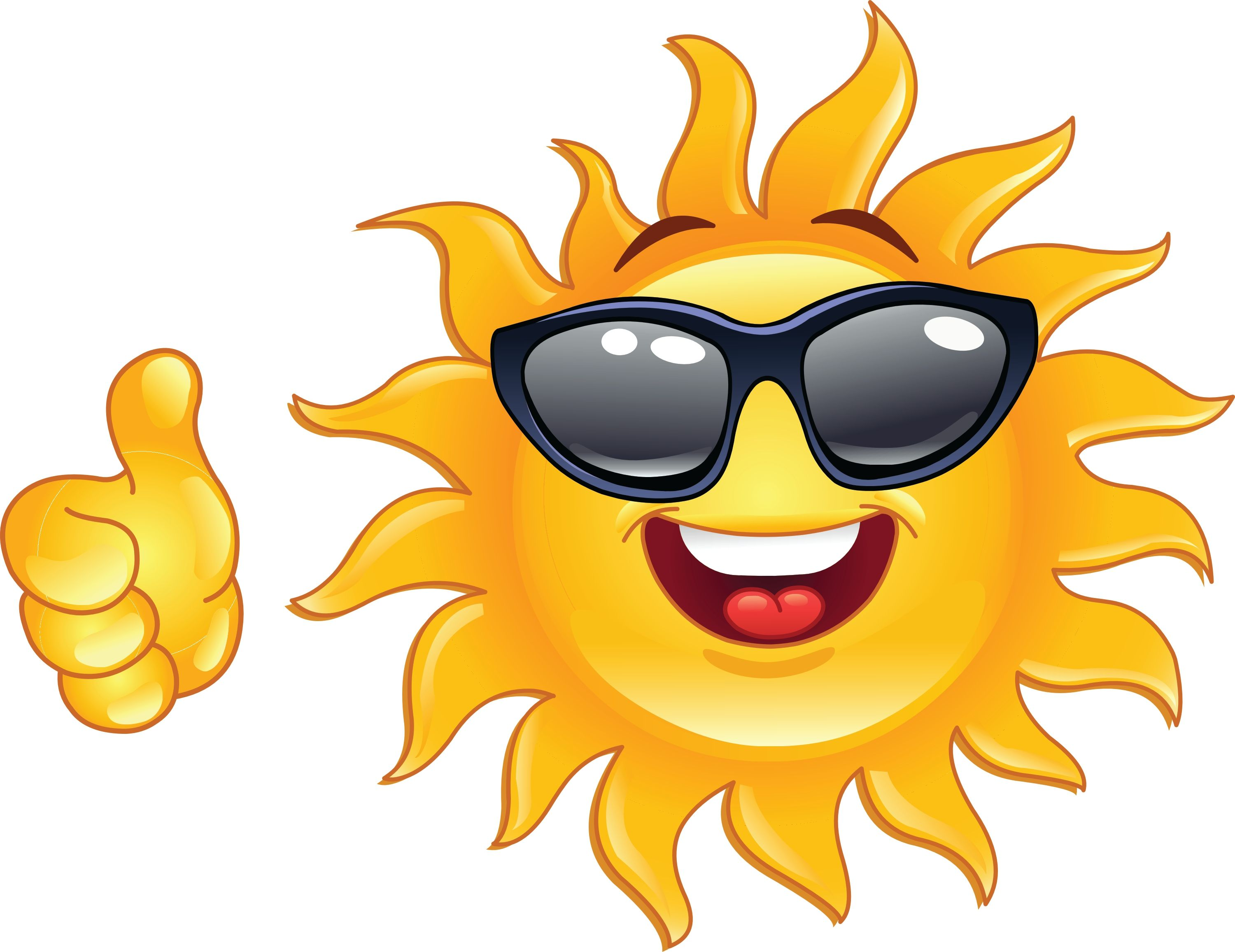 Sun with smiley face clipart png library library smiley-face emotions clip art | thumbs up smiley face clip ... png library library