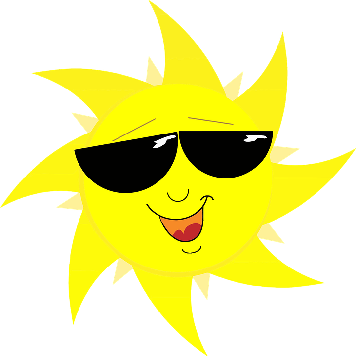 Sun with sunglasses and muscles clipart vector free library What is Vitamin D Used For? - Eat For Better Health vector free library