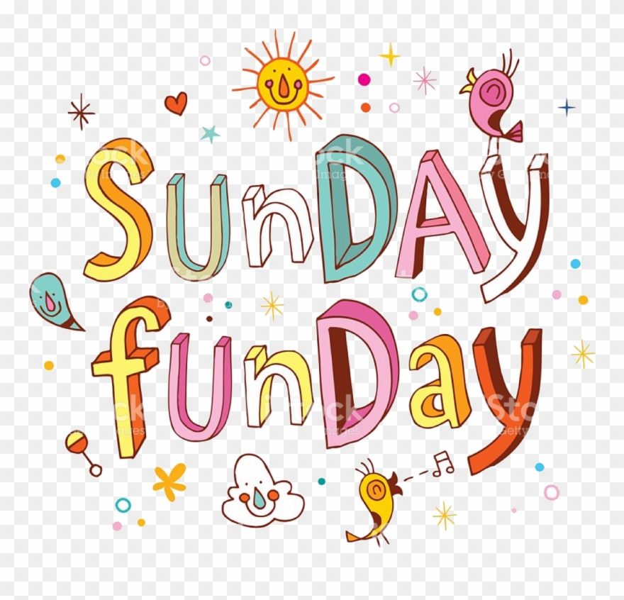 Sunday clipart png free Sunday Funday Pt - Sunday Funday Clipart (#1837433) - PinClipart png free
