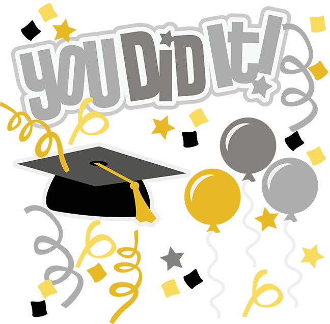 Sunday school promotion clipart png library stock You Did It! SVG graduation svg file graduation clipart cute clip art ... png library stock