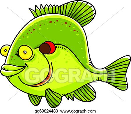Sunfish clipart clip royalty free stock EPS Illustration - Sunfish. Vector Clipart gg69824480 - GoGraph clip royalty free stock