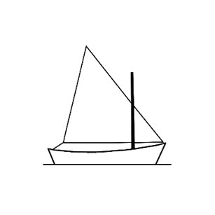 Sunfish sailboat clipart image royalty free library Sunfish Boat Illustration Gifts on Zazzle image royalty free library