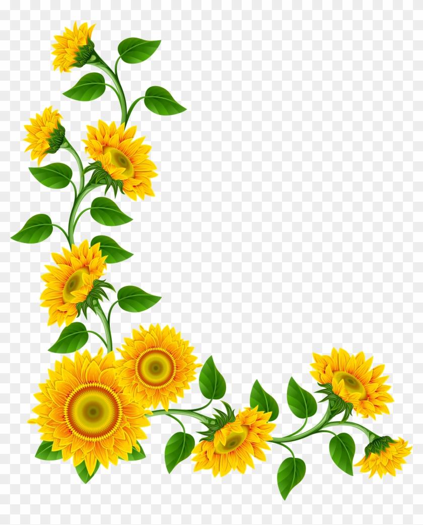 Sunrflower clipart royalty free Sunflower Clipart Free Bouquet Of Flower Outline Clip ... royalty free