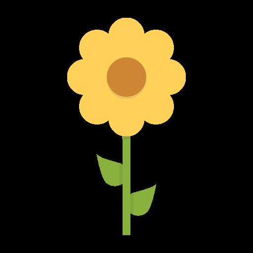 Sunflower blossom clipart clip art royalty free stock Blossom, ecology, flower, nature, spring, sunflower icon clip art royalty free stock