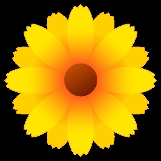 Sunflower blossom clipart jpg black and white download Yellow,Sunflower,Flower,sunflower,english marigold,Plant ... jpg black and white download