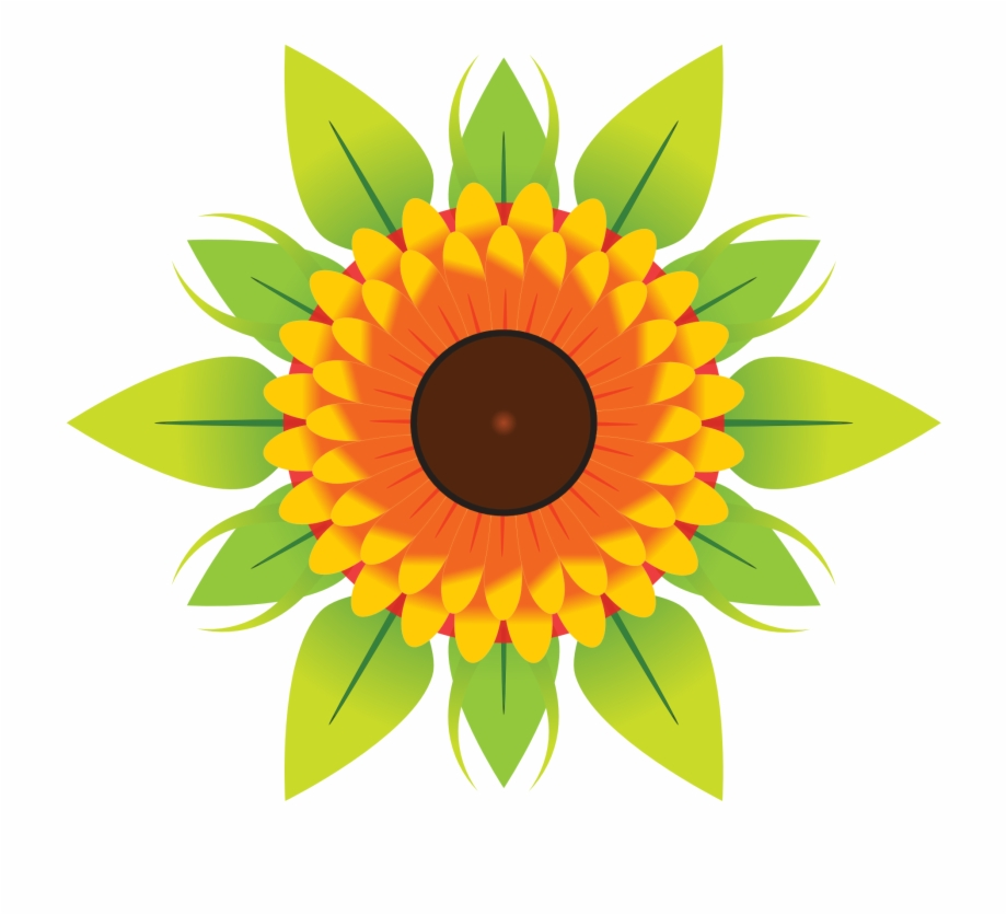 Vector graphics sunflower clipart picture free Flower Vector - Sunflower Clip Art Flower Free PNG Images ... picture free