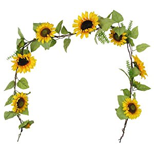 Sunflower garland clipart vector freeuse stock Sunflower clipart garland pencil and in color sunflower jpg ... vector freeuse stock