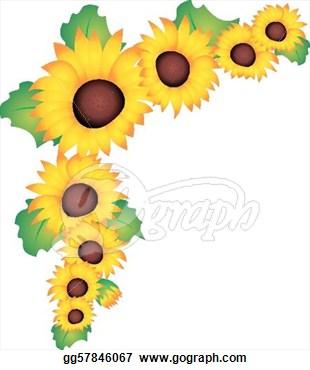 Sunflower stock clipart svg freeuse download Sunflower vector - stock   Clipart Panda - Free Clipart Images svg freeuse download