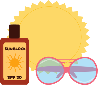 Sunglasses and sunscreen clipart graphic freeuse library Sunscreen Clipart | Free download best Sunscreen Clipart on ... graphic freeuse library