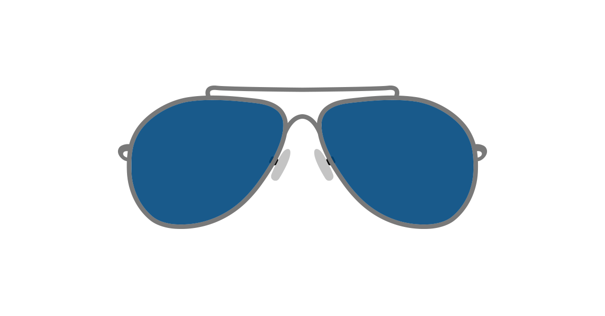 Sunglasses graphic clipart image royalty free download Aviator Sunglasses Png | Free download best Aviator ... image royalty free download